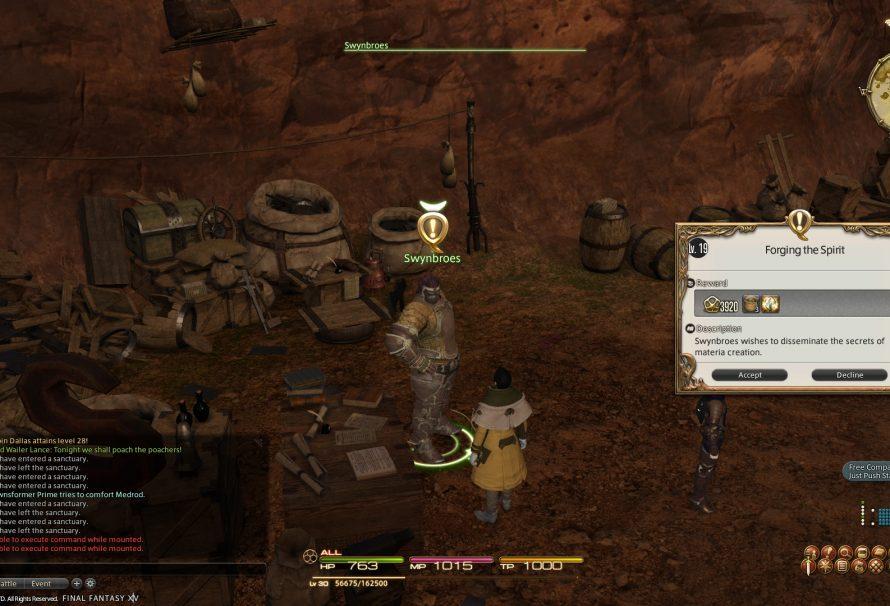 Final Fantasy XIV – Spiritbond on Equipments Detailed