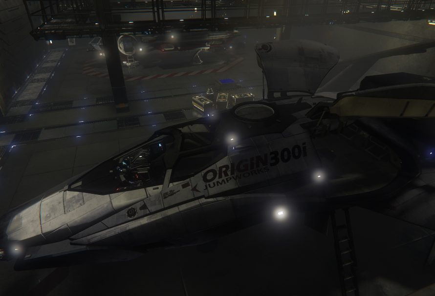 Star Citizen Hangar Module Released