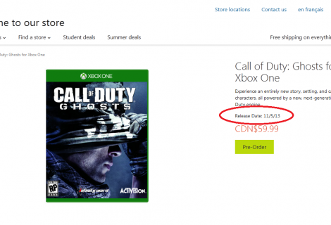 Xbox One Release Date Confirmed By Microsoft?
