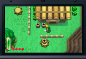 Overworld similarities and differences in Zelda: A Link Between Worlds