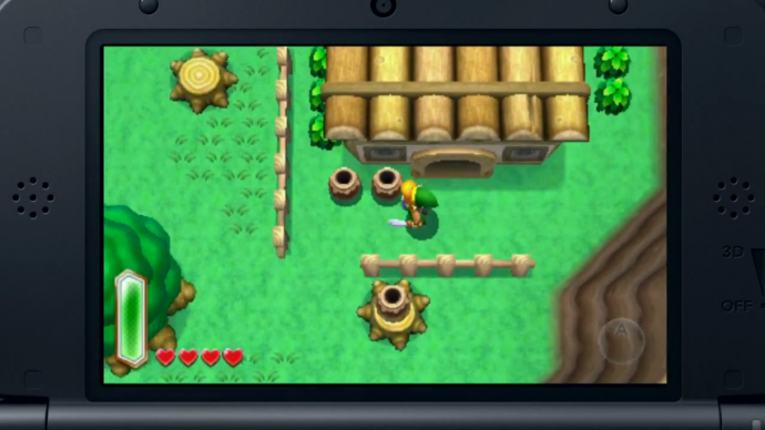 Overworld similarities and differences in Zelda: A Link ...
