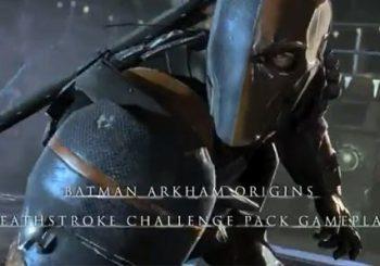 Batman: Arkham Origins' Deathstroke Challenge Pack DLC trailered