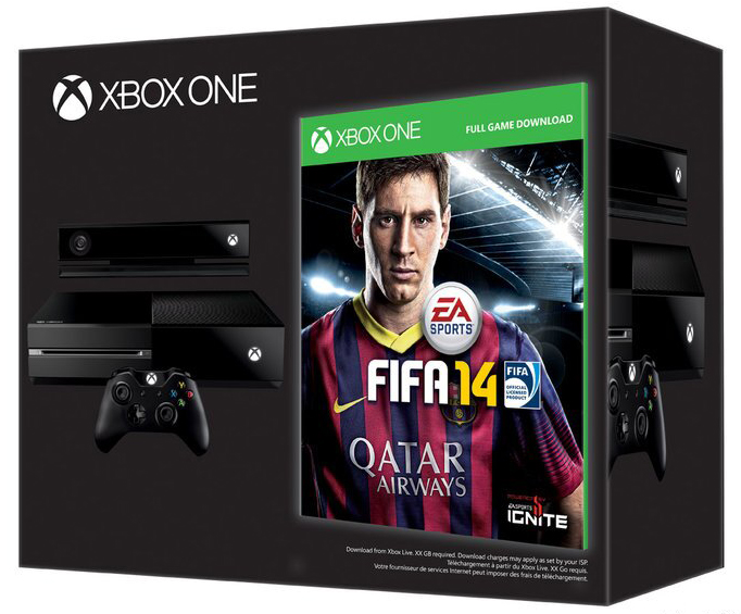 Only European Xbox One Day One Pre-Orders Get Free FIFA 14