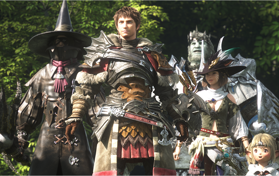 Final Fantasy XIV: A Realm Reborn Wows On The PS4 In Launch Trailer
