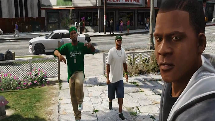 Grand Theft Auto 5 utilizes real gang member voices