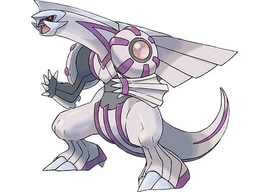 Catch the Legendary Pokemon Palkia starting today at Gamestop