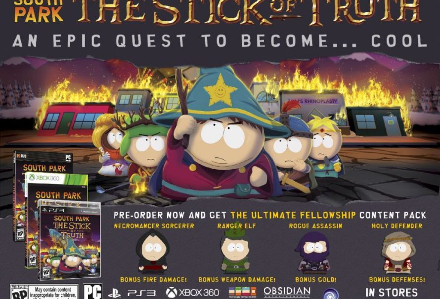 South Park: The Stick of Truth gets a release date