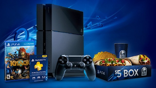 Sony partners with Taco Bell in PlayStation 4 promotion