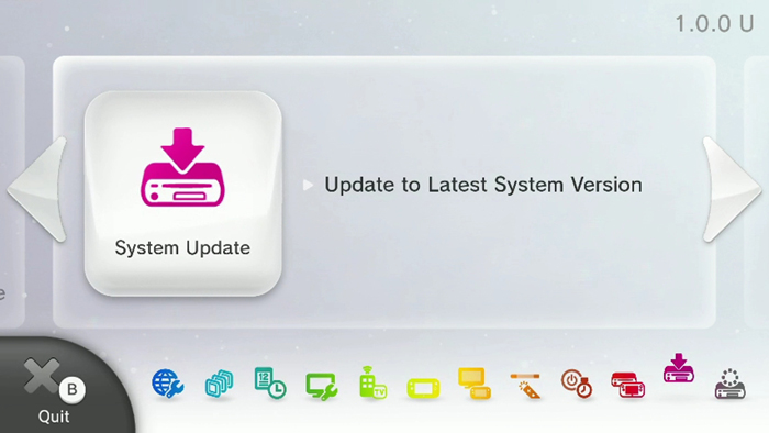 Wii U's Latest Firmware Update Now Available