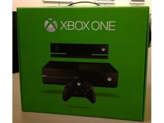 First retail Xbox One box unveiled