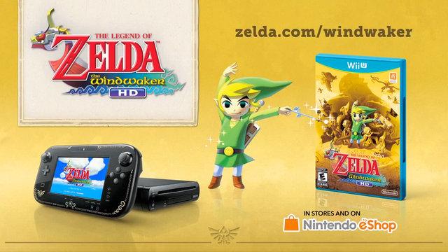 The Legend of Zelda: Wind Waker HD Digital File Size Revealed