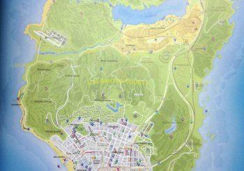GTA V Map Gets Leaked