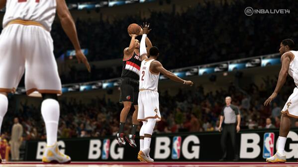 NBA Live 14 Receives Release Date And First Screenshot