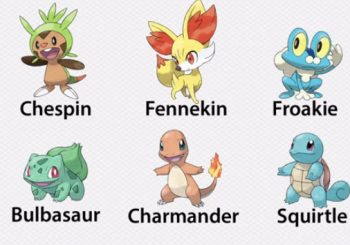Pokemon X and Y To Receive Two Sets of Starters