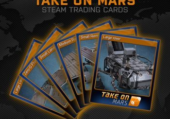 Take On Mars gets Steam trading cards, major update next month