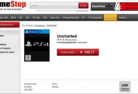 Gamestop Germany Lists Uncharted 4 On PS4
