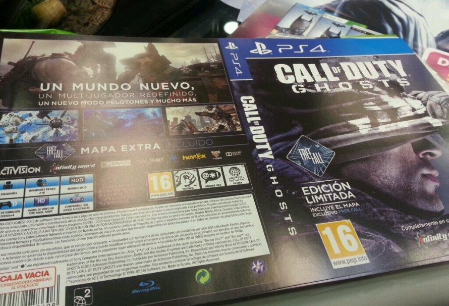 Call Of Duty: Ghosts Native 1080p On PS4 & 49 GB In Size