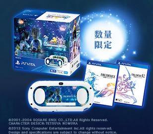 Final Fantasy X/X-2 HD PS Vita Bundle Announced in Japan