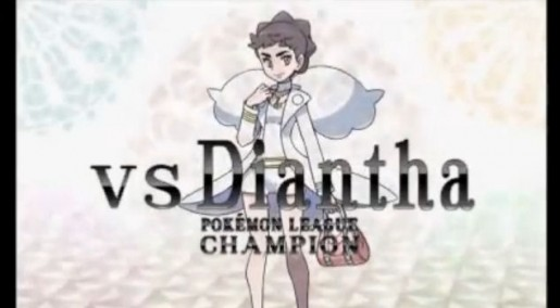 Pokemon X and Y League Champion Diantha 3