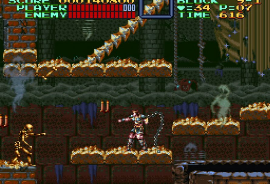Super Castlevania IV coming to eShop next week