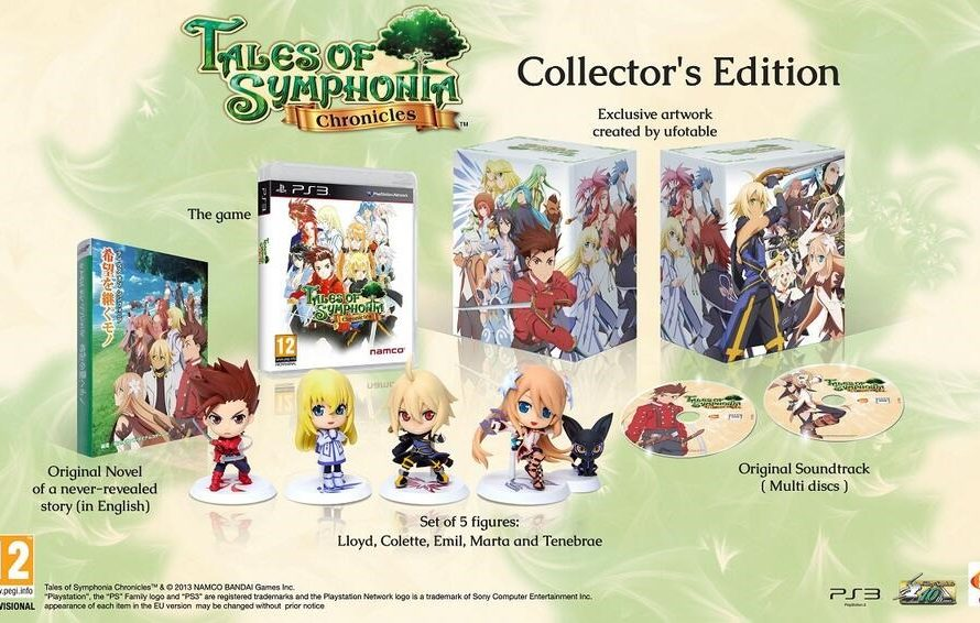 Tales Of Symphonia Chronicles Collector's Edition Unboxing