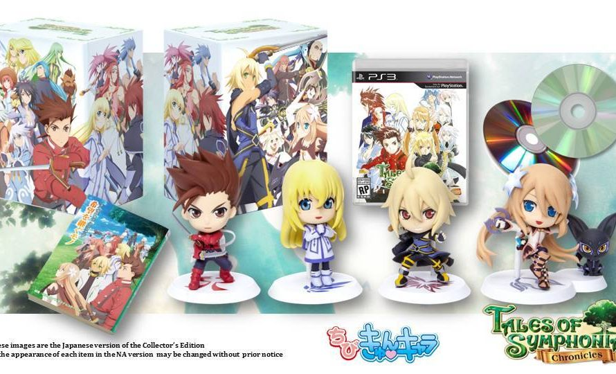 Tales of Symphonia Chronicles Collector's Edition announced