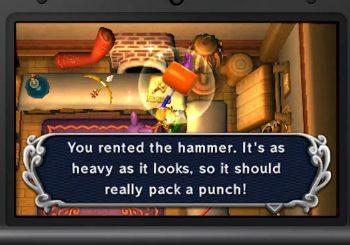 The Legend of Zelda: A Link Between Worlds implements item rental system