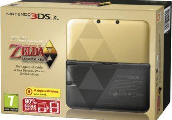 Zelda: A Link Between Worlds 3DS XL bundle announced for Europe