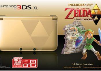 Zelda: A Link Between Worlds 3DS XL Bundle Confirmed for North America