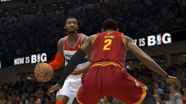 NBA Live 14 vs NBA 2K14 Screenshots