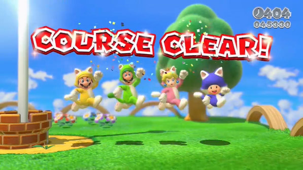 Super Mario 3D World jumps for the flagpole in latest gameplay trailer