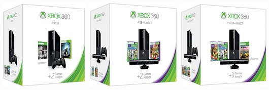 Microsoft Announces Three Xbox 360 Holiday Bundles
