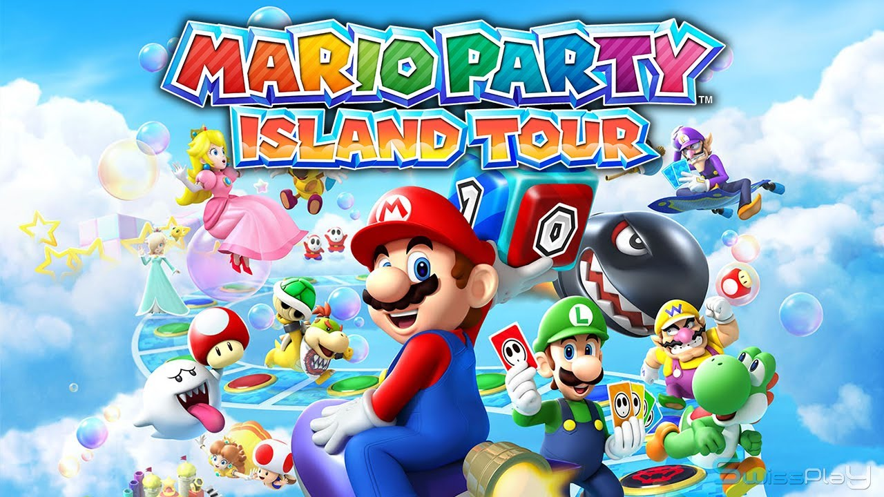 Review For Mario Party Island Tour