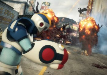 Mega Man appears in Dead Rising 3