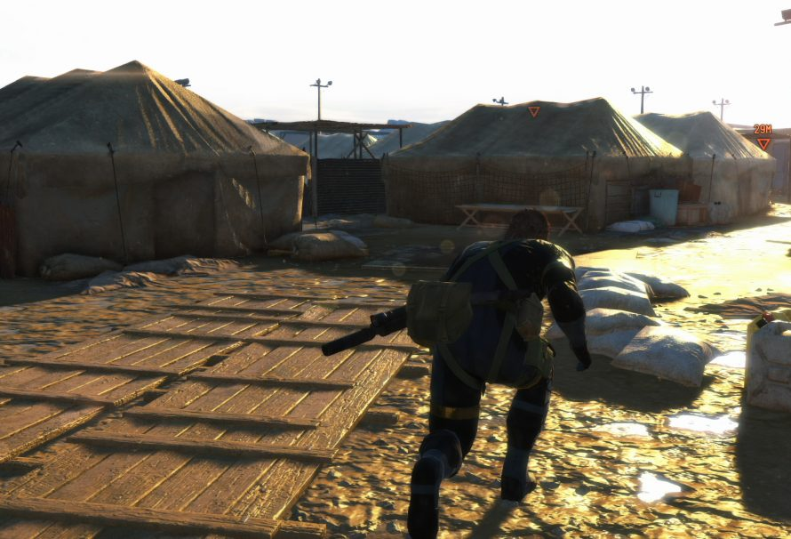 You Cannot Pause During Metal Gear Solid V Ground Zeroes