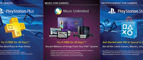 PS4 comes with 30 Days of PS Plus and more