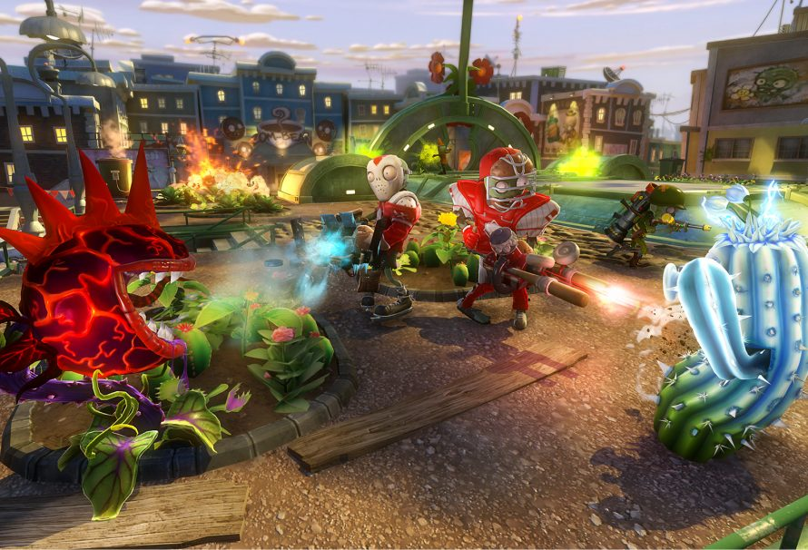 Plants vs Zombies: Garden Warfare shooting for February 2014 release