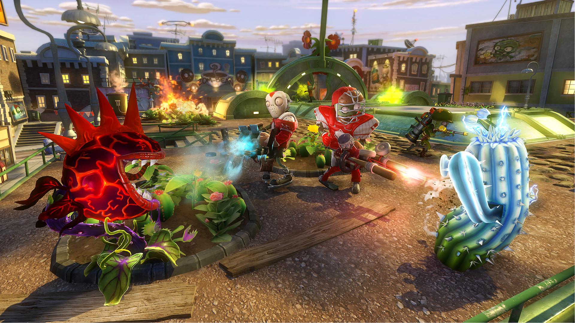 Good ... Garden Warfare Is An Always Online Game. Plants Vs Zombies
