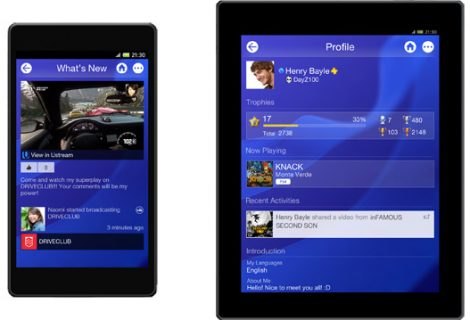 Official PlayStation App now available on Android and iOS