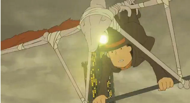 Professor Layton and the Azran Legacy's story unfolds in new trailer