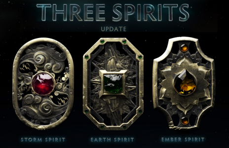 Three Spirits Update DOTA 2