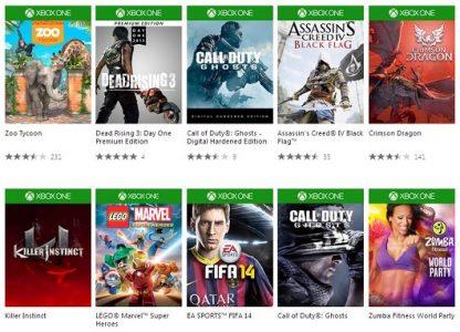 Xbox One Web Store