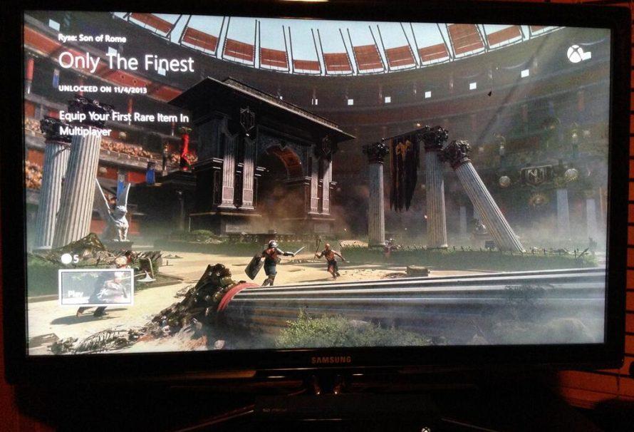 Xbox One achievement interface is beautiful