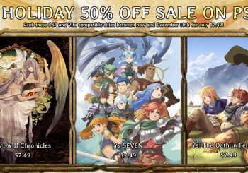 All Ys games on PSP can be yours for less than $25