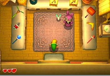 Zelda: A Link Between Worlds has a few Majora's Mask reference