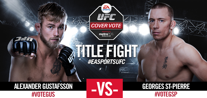 Vote For EA Sports' UFC Cover Star