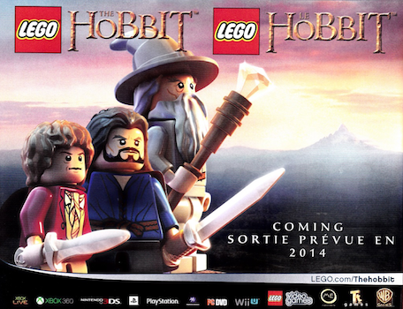 LEGO The Hobbit Game Coming In 2014