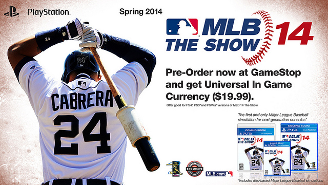 MLB 14: The Show Coming To PS4, PS3 and PS Vita