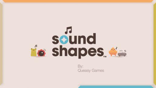 sound shapes logo