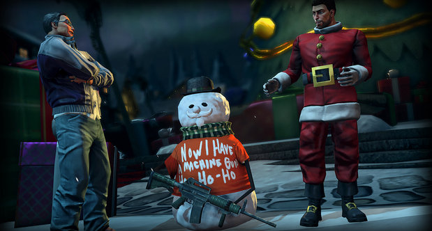 Saints Row 4 saves Santa in the next DLC pack